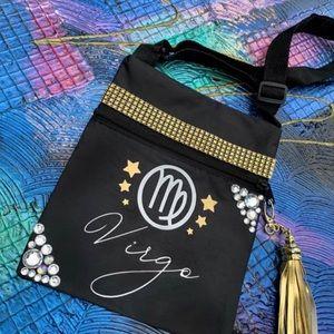 Handbags - Super cute Virgo horoscope Crossbody Bag
